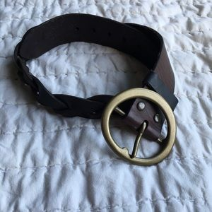 GAP | Brown Leather Belt | XS
